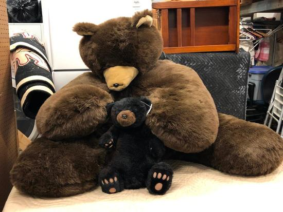 Large Stuffed, Chair Sized Bear