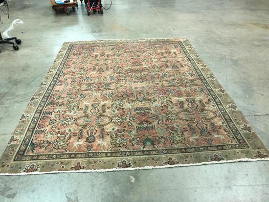 Hand Made Rug From Iran