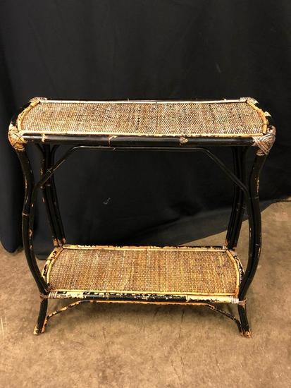 Rattan Hall Table