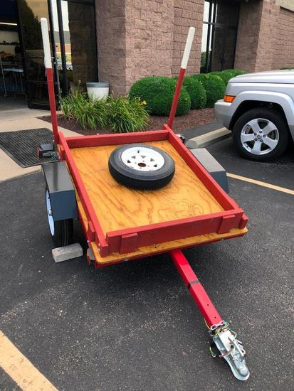 Harbor Freight Small Trailer