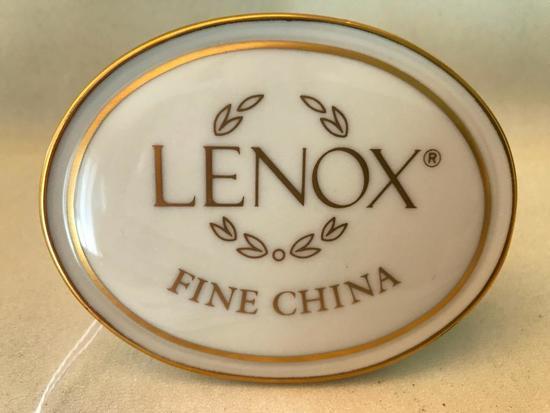 Lenox Dealers Store Plaque