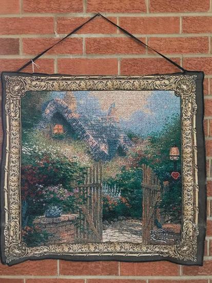 Thomas Kinkade Hanging Tapestry