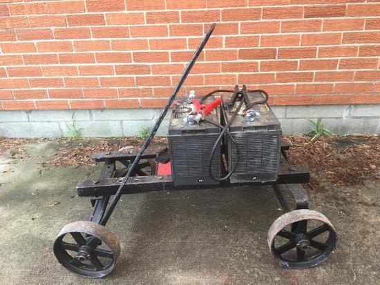 Home-Made Battery Cart/Frame