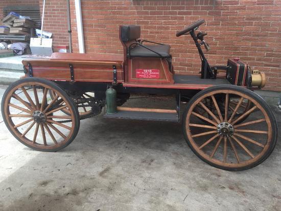 1/3 Scale 1916 International Harvester Corporation Auto Wagon Built By Milton Deets, Dayton, Ohio