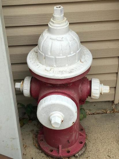 """Cast Iron Fire Hydrant From """"Alabama MH Valve & Fitting Company"""""""