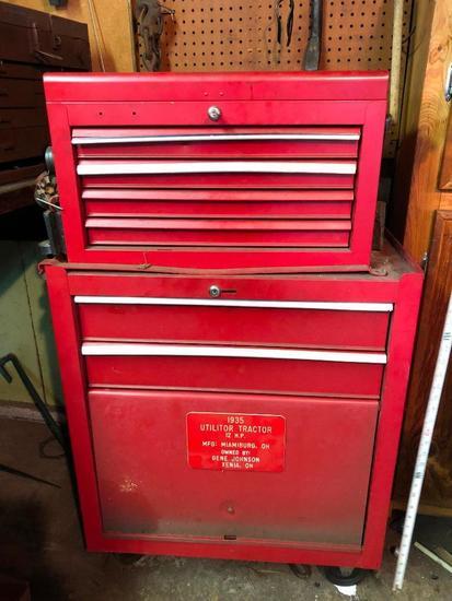Stacking, Red Tool Box