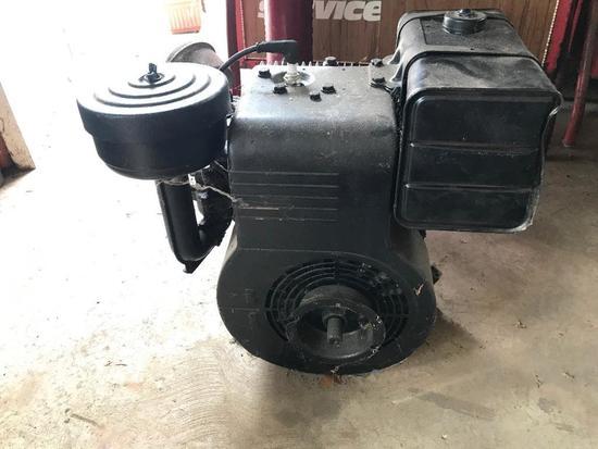 Briggs and Stratton Vintage Model 19 Gas Mower Motor