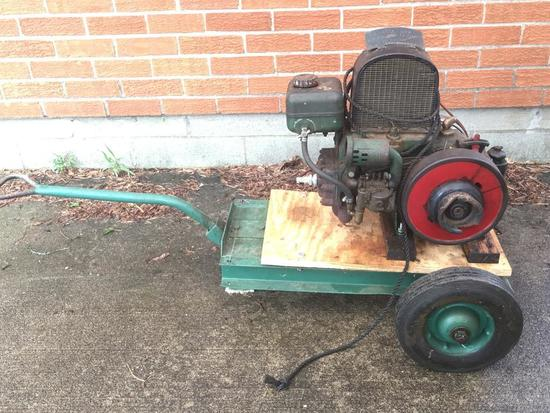 Coldwell Cub 1.5 HP Engine From Racine, Wisconsin & Newburgh, N.Y.