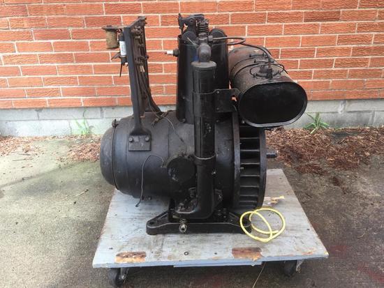 Antique Generator On Cart-Electric Motor?