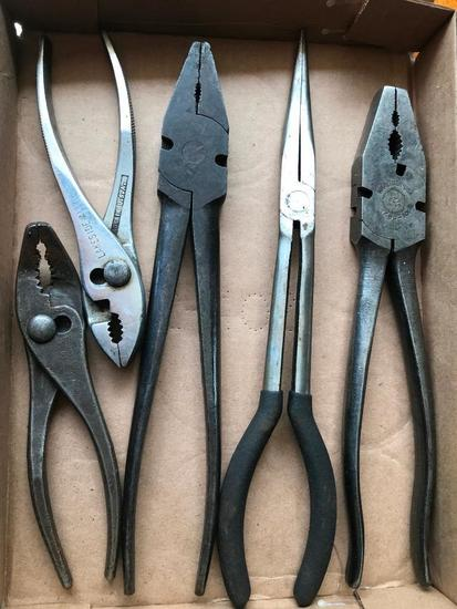 Group Of Pliers