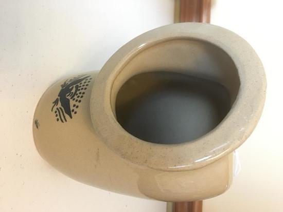Stoneware Moira Salt Pig Container