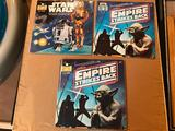 1980 Star Wars, The Empire Strikes Back, Records and Read Along Books