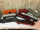 8 Lionel Train Cars as You See Them