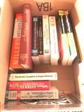 Group of Antique Reference Books, a 2000 Guinness Book of World Records and a Tall Stacks Book