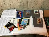 Misc. Original Nintendo Games, Boxes for Games and Instructions