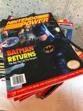 Set of Nintendo Power Magazines and Other Game Reference Books