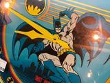 1989 DC Comics, Batman Clock, 2' in Diameter