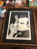1989 Marvel Comics, Michael J Zeck Punisher Print, Planche 1, 881 of 2000, Signed