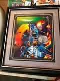Framed, 1990 Ghost Rider Poster, Frame is 16