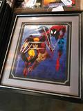 Framed, 1990 Spider Man and Wolverine Poster
