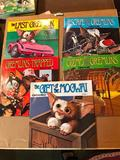 Story 1-5 of the Gremlins, See it, Hear it and Read it Books, All come with the records