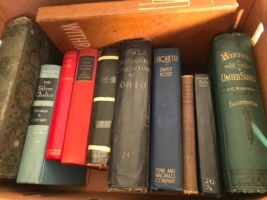 Group Of History Books & Misc. Books