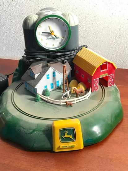 Electric John Deere Clock