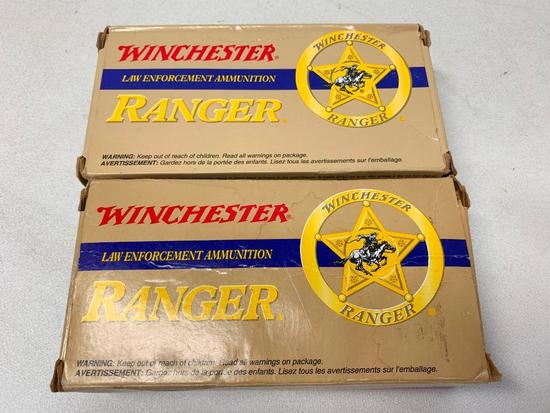 (82) Rounds Of Winchester Ranger 40 Smith & Wesson Ammo