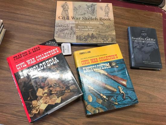 Group of 4, Contemporary Civil War Reference Books
