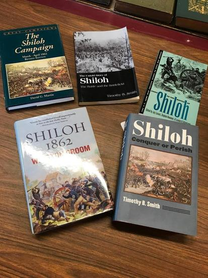 Five Contemporary Books on The Battle of Shiloh
