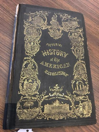 1845 Pictorial History of he American Revolution