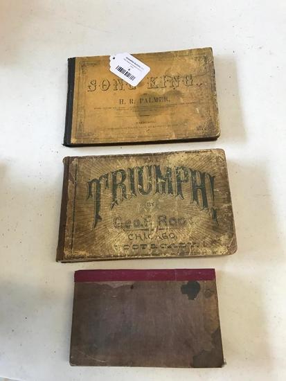 Three 1800's Religious Books