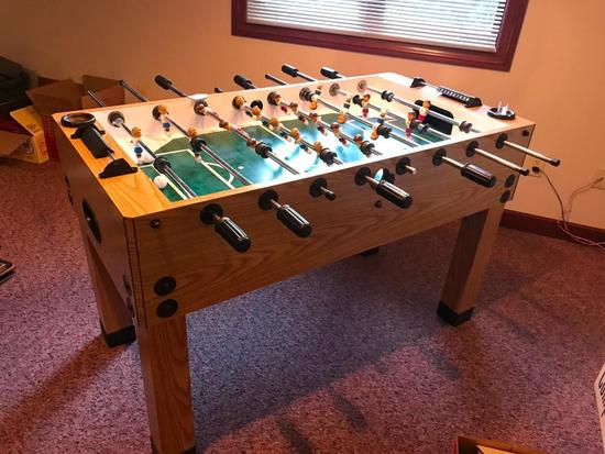 Floor Model Foosball Table