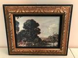 (3) Framed Prints On Board