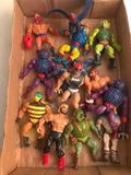 (12) Vintage He-Man Action Figures