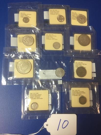 Group of Foreign Coins from Littleton Coin Company LLC