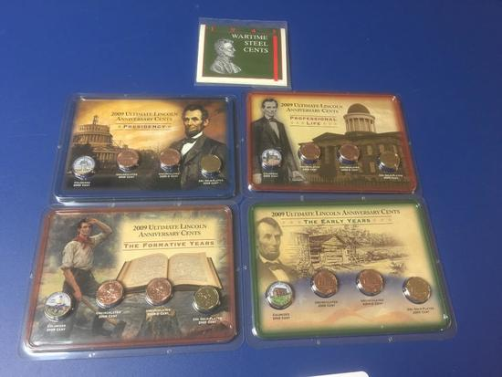 Sealed Lincoln Cent Sets from Littleton Coin Co.
