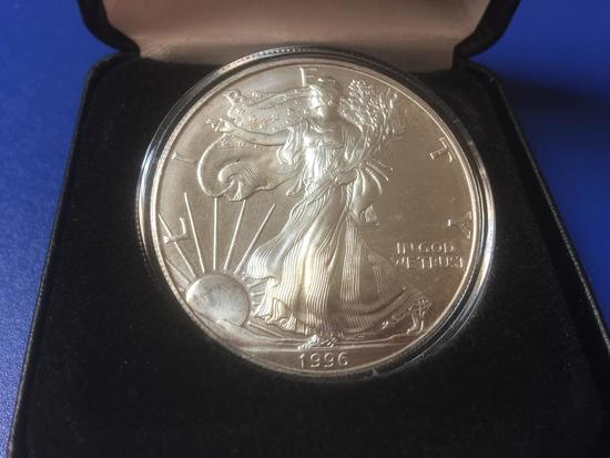 1996 Silver Eagle, 1 OZ Silver Coin