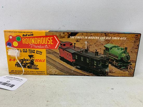 """Vintage Roundhouse """"Climax Ready-To-Run"""" Power Chassis-Appears Mint In Box"""
