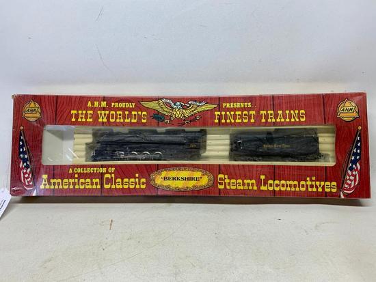 "HO Scale ""Berkshire"" Steam Locomotive & Tinder-Mint In Box"