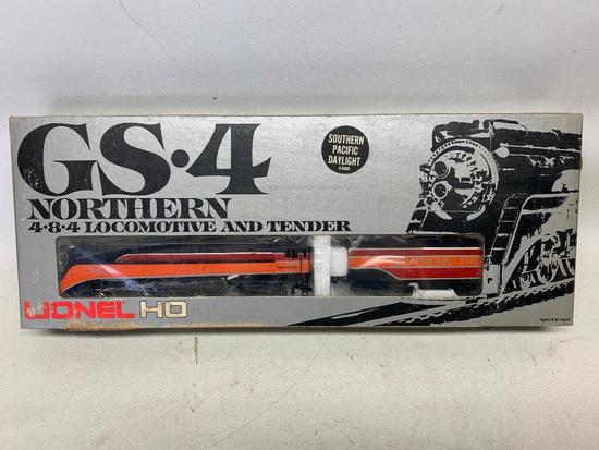 Lionel HO Scale GS-4 Northern Locomotive & Tender-Appears Mint In Box