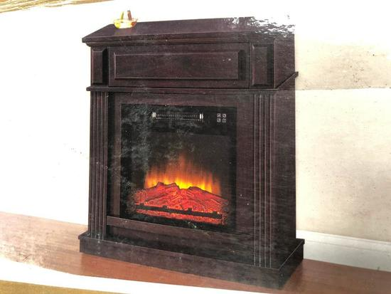 Hampton Bay, Parksley, Infrared Electric Fireplace