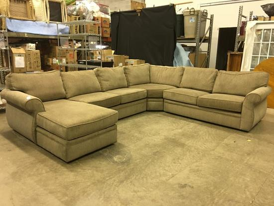 4-Piece Broyhill, Sectional Couch-1 Year Old!