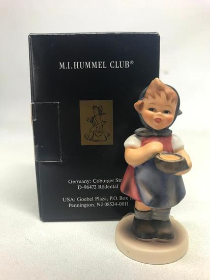 "M. I. Hummel Figurine: ""Jungbauerin From Me To You"""