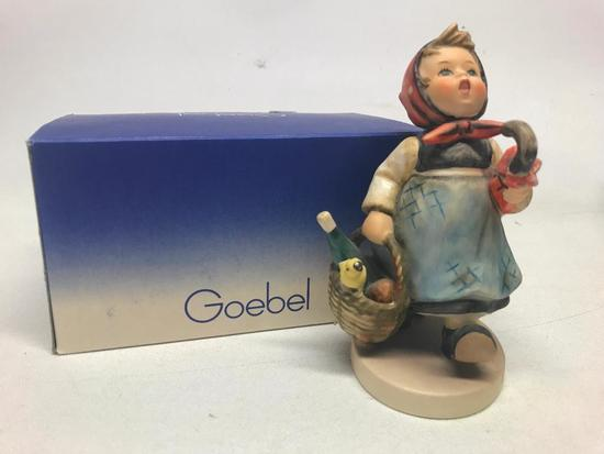 "M. I. Hummel Figurine: ""Visiting An invalid"""