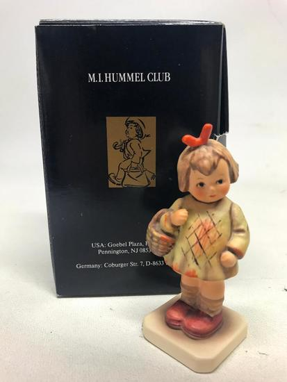 "M. I. Hummel Figurine: ""I Brought You A Gift"" W/Box"