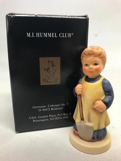 "M. I. Hummel Figurine: ""Garden Treasures"" W/Box"
