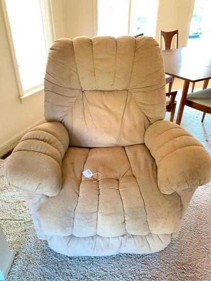 Upholstered Rocker/Recliner By Best Chairs