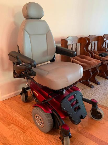 Jazzy Handicap Scooter W/Manual