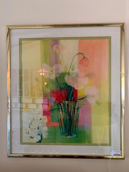 Framed Print Is Signed By